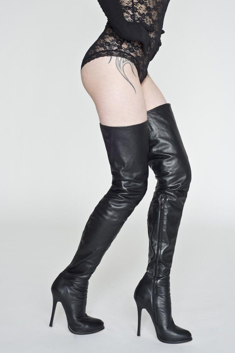57bbfdf124ba4 AROLLO Long Overknee Queen • 100% genuine leather • buy online