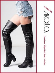 AROLLO Thigh High Boots Beth