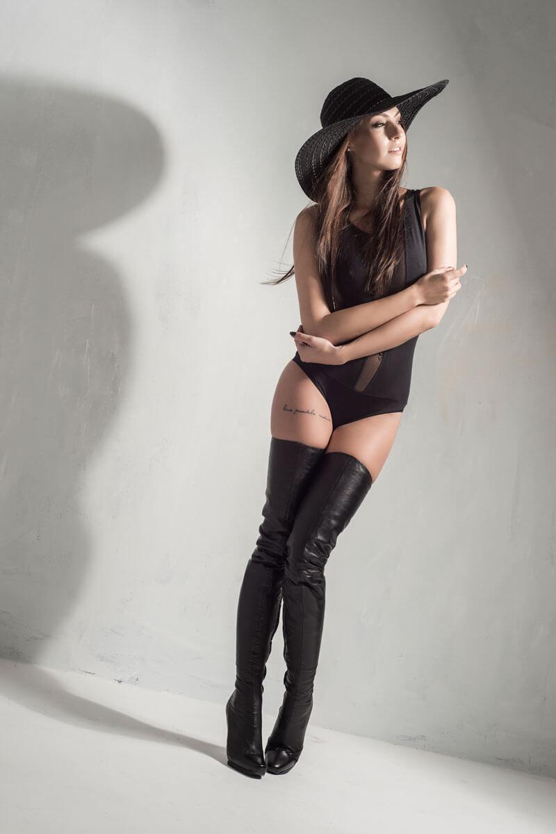 Arollo Leather Heeled Boots Arollo2015_053