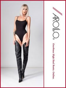 AROLLO Thigh High Boots Eve