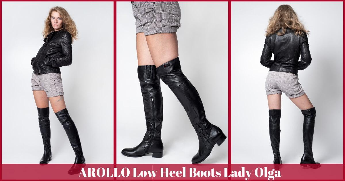 Low Heel Lady Olga