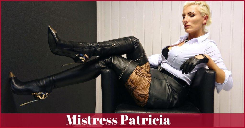 Mistress Patricia from Germany