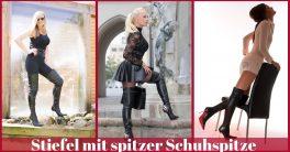 spitze Schuhspitze