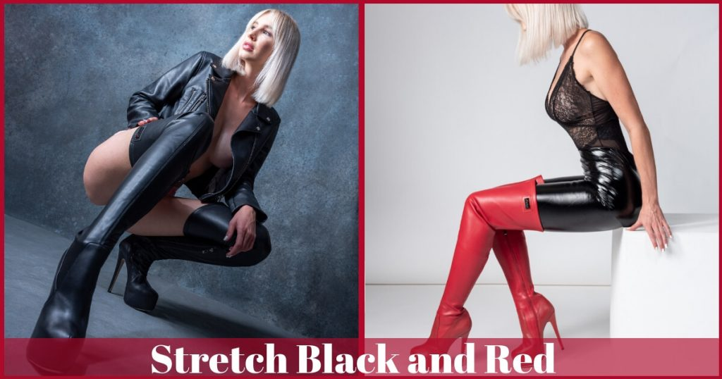 Stretch Black and Red