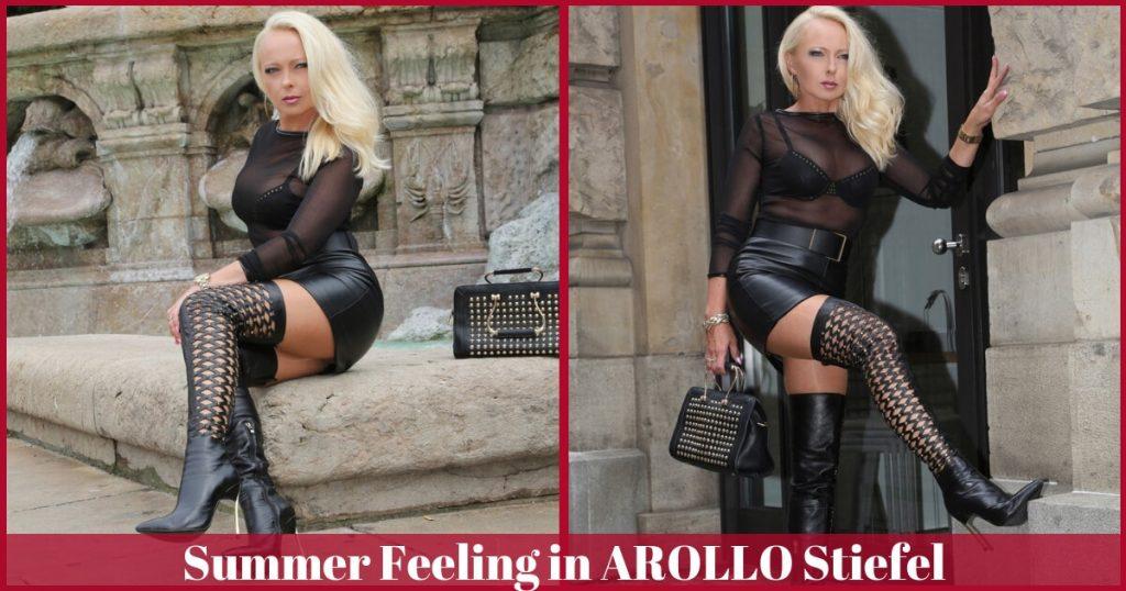 Sommer Stiefel von AROLLO