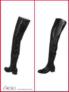 AROLLO Thigh High Boots for Men   AROLLO