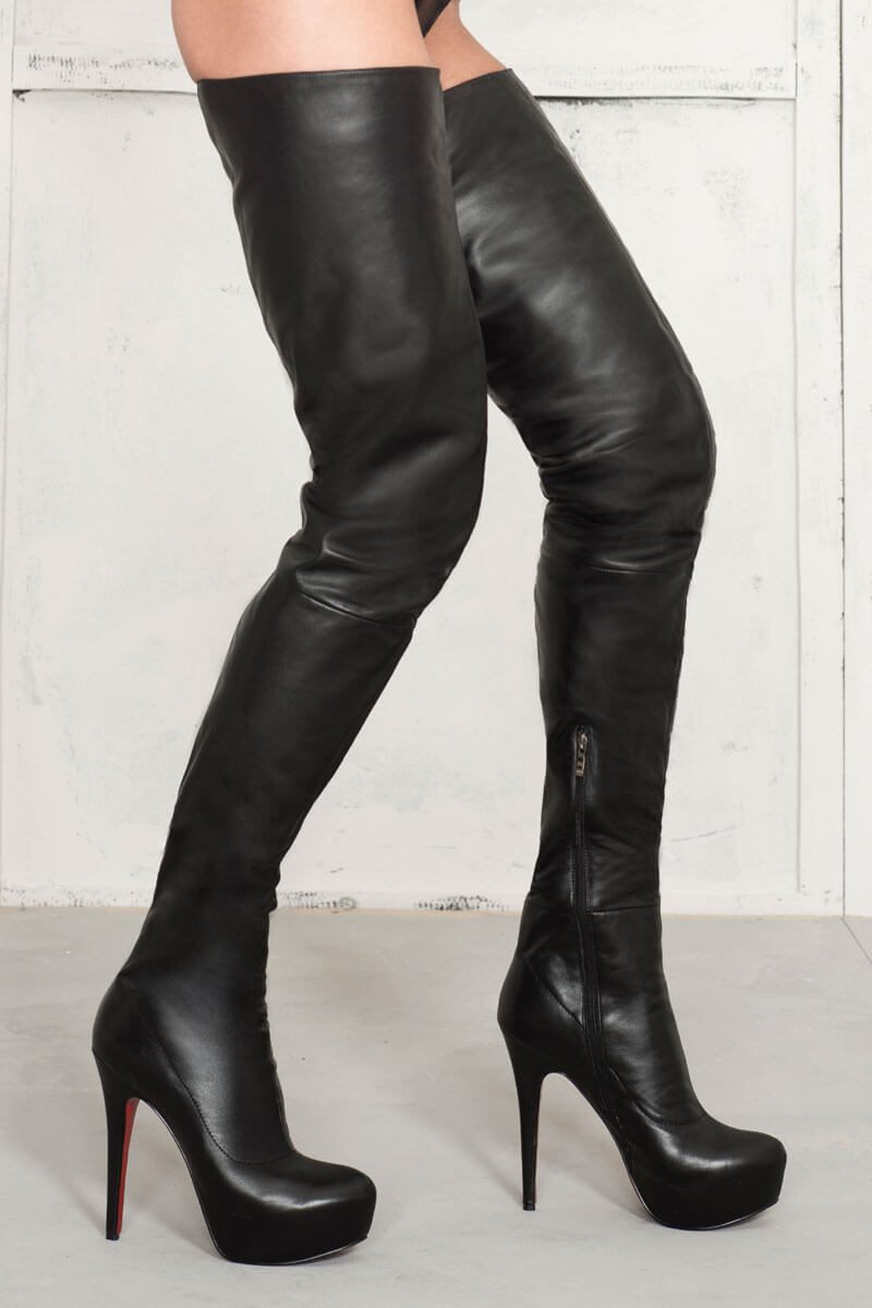 0d1cd7e906e AROLLO Long Overknee Princess • 100% genuine leather • buy online